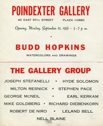 1956 Poindexter Gallery