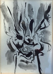 1956 Untitled Ink 19x15