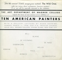 1956 Wagner College