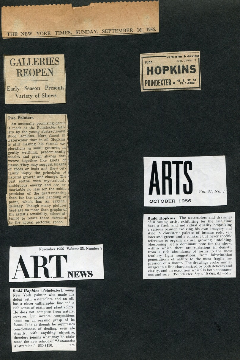 1956.9 NY Times and Art News and art mag