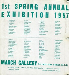 1957 1st spring march gallery