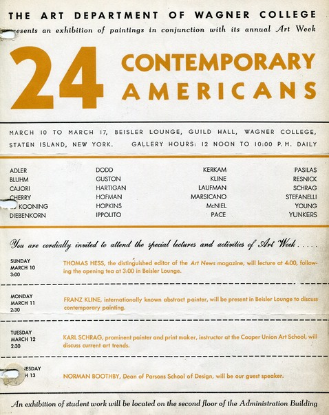 1957 24 contemporary artists