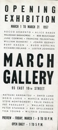 1957 March Gallery