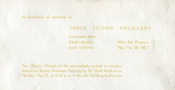 1957 Three Young Americans