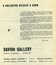 1958 Collector selects a show