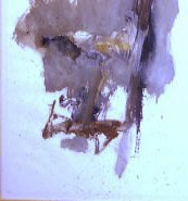 1958 oil on paper