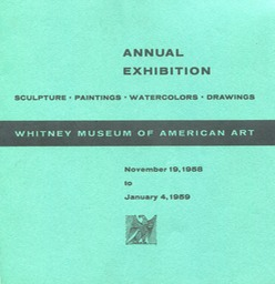 1958 Whitney Annual Exhibition