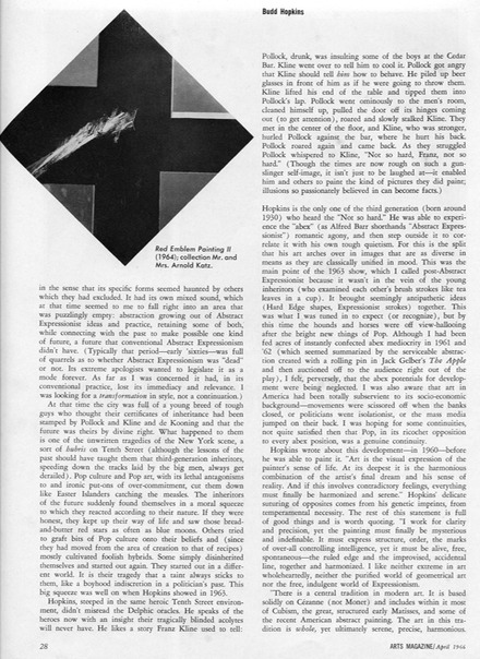 1966.4 Arts magazine pg2