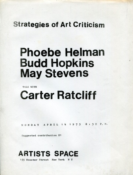 1975 Artists Space