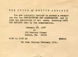 1978 Guild of Boston Artists