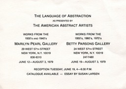 1979 Language of Abstraction