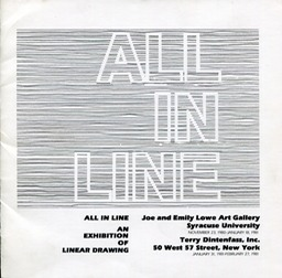 1981 All in line exhibition