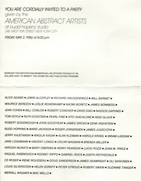 1986 American Abstract Artists