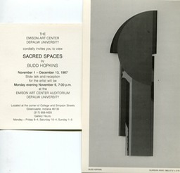 1987 Sacred Spaces