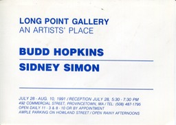 1991 Long Point show invite
