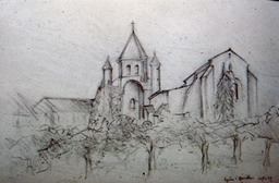 1999 Church Avilar drawing
