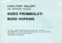 Long Point gallery show july 26-Aug 8